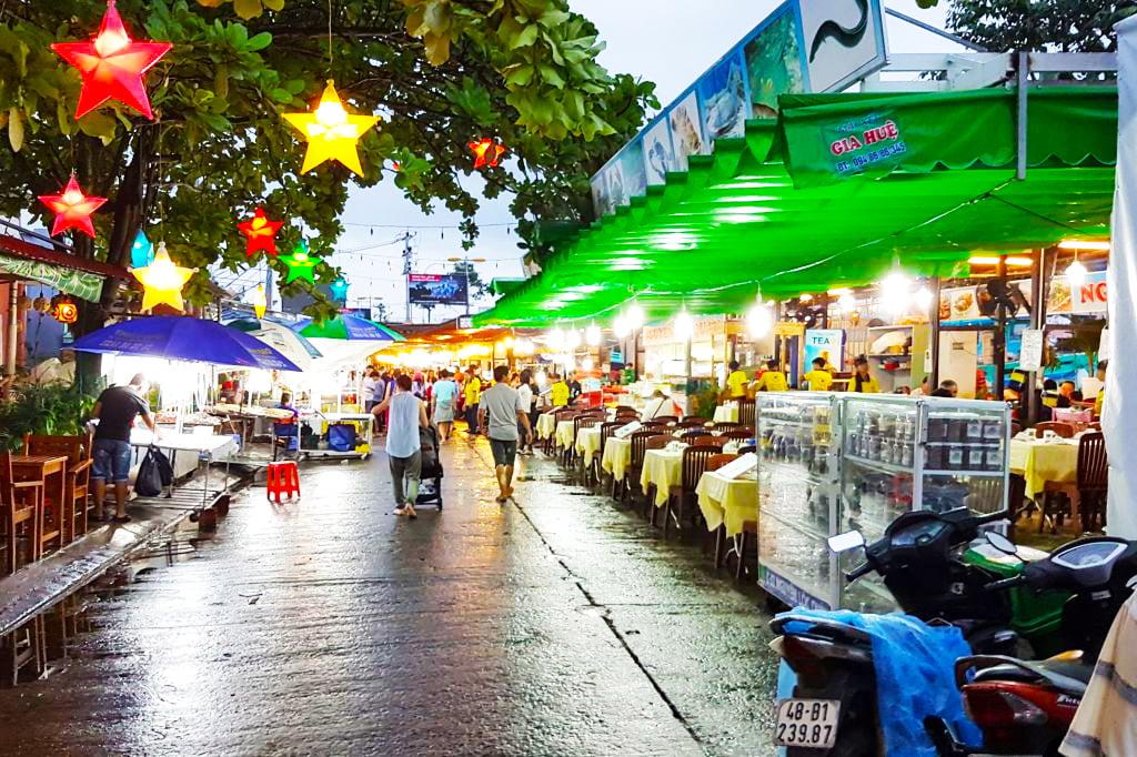 Chợ đêm thành phố Phú Quốc